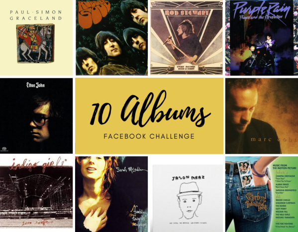 10 albums Facebook challenge