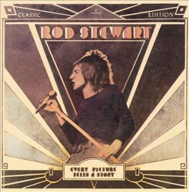 "Album cover of Rod Stewart's ""Every Picture Tells a Story"""