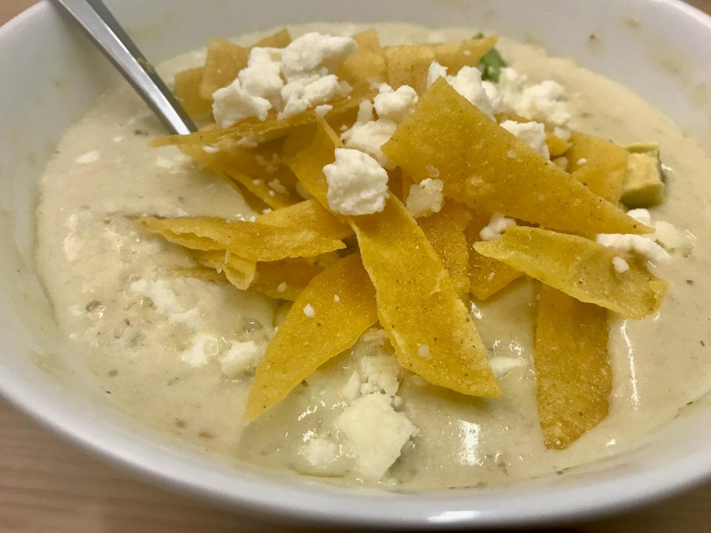Chile verde soup