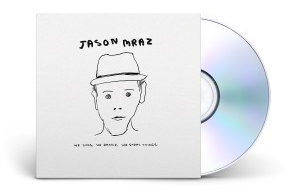 "Album cover for Jason Mraz's ""We Sing. We Dance. We Steal Things."""