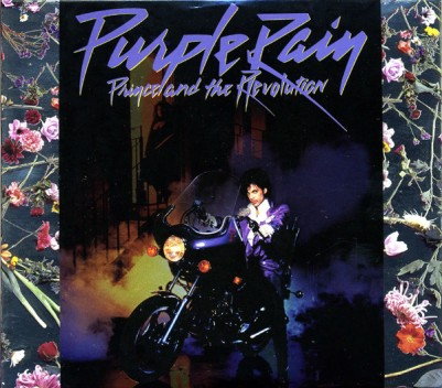 "Album cover for Prince's ""Purple Rain"""