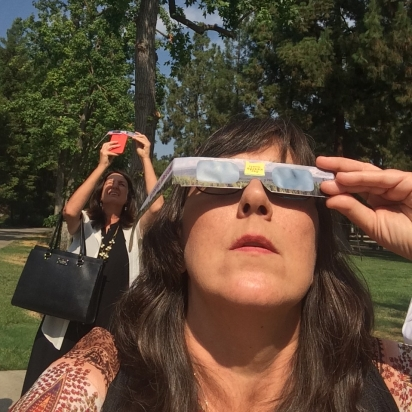 Looking at eclipse on Aug. 21, 2017